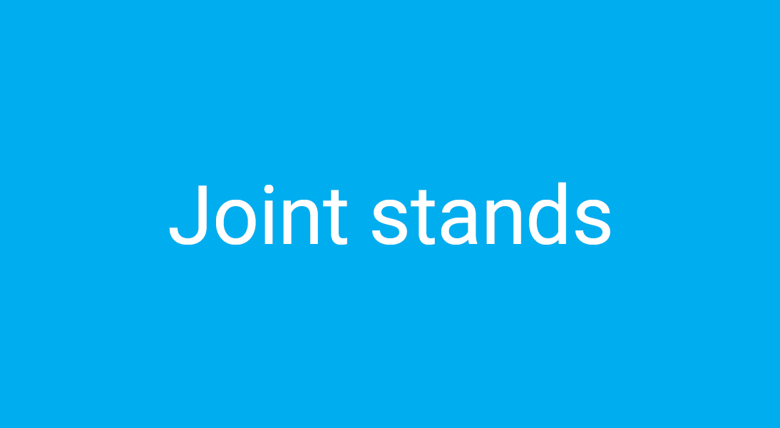 Joint stands